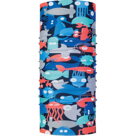 Buff Coolnet UV+ Neckwear Children red/blue